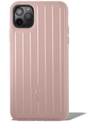 RIMOWA Polycarbonate Desert Rose Pink Groove Case For Iphone 11 Pro Max - Green