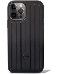 RIMOWA Matte Black Case For Iphone 12 & 12 Pro