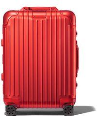 RIMOWA Original Cabin Suitcase - Red