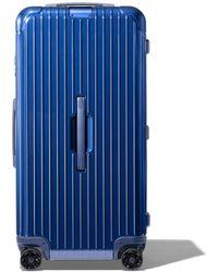 RIMOWA Essential Trunk Plus Suitcase - Blue