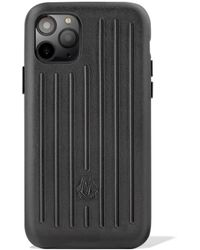 RIMOWA Leather Black Case For Iphone 11 Pro