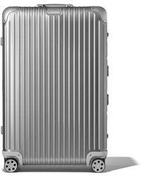 RIMOWA Original Check-in L Suitcase - Metallic