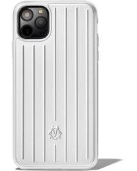RIMOWA Aluminium Groove Case For Iphone 11 Pro Max - Multicolour
