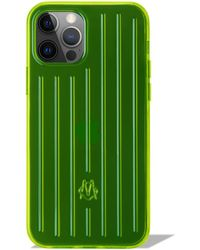 RIMOWA Custodia iPhone 12 & 12 Pro Neon lime - Verde