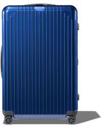 RIMOWA Check-in L リモワ エッセンシャル ライト チェックイン L スーツケース ブルー