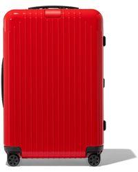RIMOWA Essential Lite Check-in M Suitcase - Red