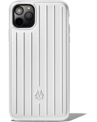RIMOWA Coque Aluminium pour iPhone 12 & 12 Pro - Multicolore