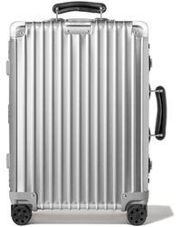 RIMOWA Cabin S リモワ クラシック キャビン S スーツケース シルバー - メタリック