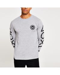 Hype Playstation Gray Long Sleeve T-shirt
