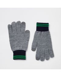River Island Knitted Gloves