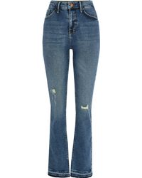 River Island Mid Blue Bootcut Jeans