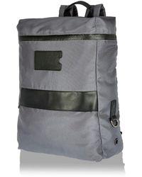 River Island Gray Minimal Backpack