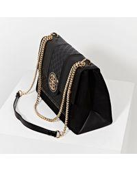 River Island Gold Chain Shoulder Bag - Black