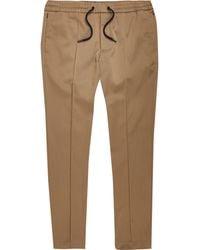River Island Brown Slim Fit Tailored sweatpants