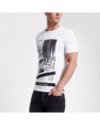 Only & Sons - Printed T-shirt - Lyst