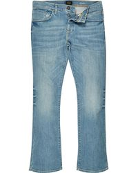 River Island - Mid Wash Clint Bootcut Jeans - Lyst