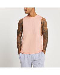 River Island Pink Tank Vest