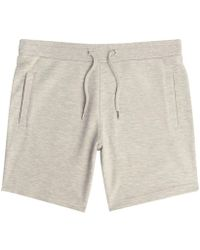 River Island | Light Grey Pique Shorts Light Grey Pique Shorts | Lyst