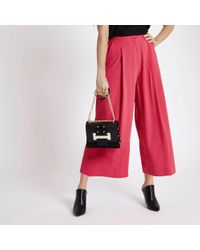 River Island Coral Pink Culottes