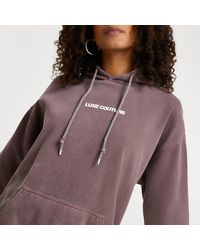 River Island Brown 'luxe Couture' Oversized Hoodie