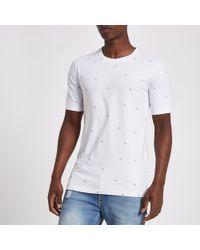 Minimum - Print T-shirt - Lyst