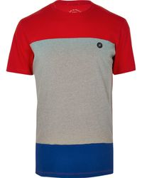 98fbb8124fd8 River Island Red Jack & Jones Core Print T-shirt in Red for Men - Lyst