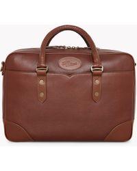 R.M.Williams Signature Briefcase - Brown