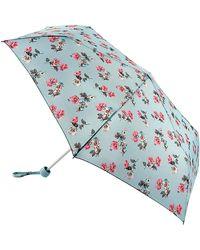 Fulton Cath Kidston Cats & Flowers Umbrella - Blue