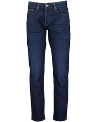 Ted Baker Simay Straight Leg Mid Wash Jean - Blue / W30 L32