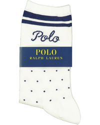 Polo Ralph Lauren Dot Stripe Sock - Nevis / One Size - Multicolor