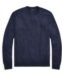 Polo Ralph Lauren Merino Wool Jumper - Blue