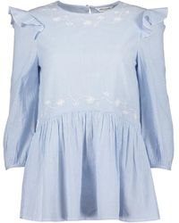 Great Plains - Sole Embroidered Wide Top - Lyst
