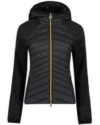 Barbour Carnaby Quilted Zip-up Sweatshirt - Black