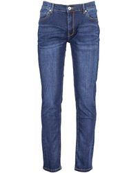 Farah Drake Stretch Tailored Fit Jeans - Blue