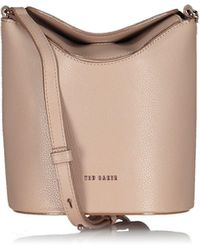 Ted Baker Brookk Resin Chain Mini Bucket Bag - Pink
