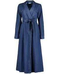 SELECTED Miranda Long Denim Dress - Blue