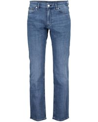 BOSS by Hugo Boss Maine3 Cashmere-touch Denim Jeans - Blue