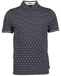 Ted Baker Culture Short Sleeve Polo Shirt - Blue