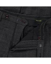 Remus Uomo Solari Formal Trousers - Charcoal / W30 L32 - Grey