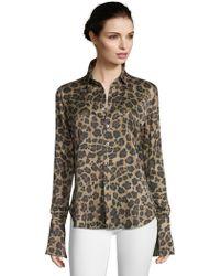 Robert Graham - Gabriela Spotted Print Silk Shirt - Lyst