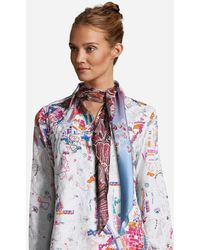 Robert Graham Dancing Lady Silk Scarf - Multicolor