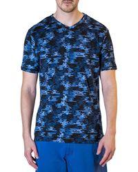 Robert Graham St Lucie T-shirt - Blue