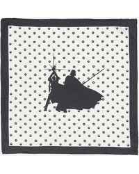 Robert Graham Centered Silk Scarf - Black