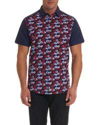 Robert Graham - Pacific Union Short Sleeve Shirt - Lyst