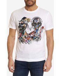 Robert Graham S/s Knit Tshirt - White