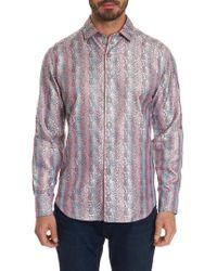 Robert Graham - Limited Edition Live Boldly Silk Sport Shirt - Lyst