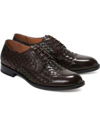 Robert Graham - Acosta Basket Weave Oxford Shoe - Lyst