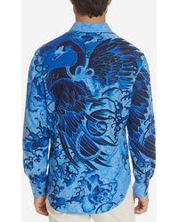 Robert Graham Bondock Sport Shirt - Blue