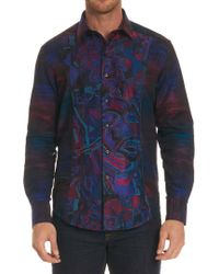 Robert Graham - Limited Edition Dreaming Colors Sport Shirt Big - Lyst