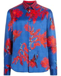 Roberto Cavalli - Printed Button Down Shirt - Lyst